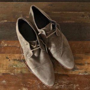 Zara dressy suede shoes